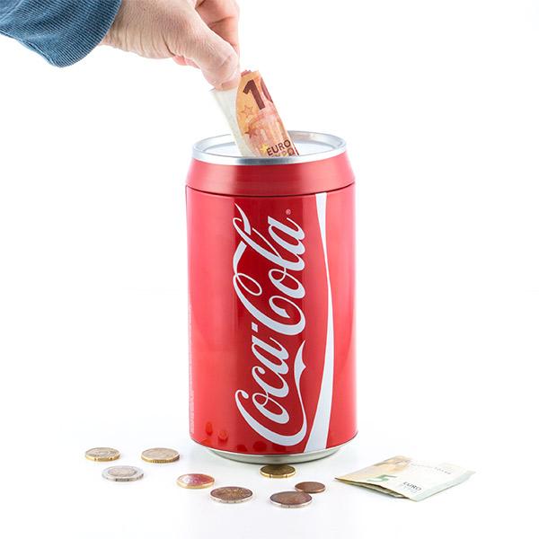 UDSALG Coca-Cola Sparegris (Ingen Emballage)