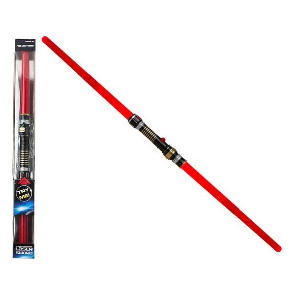 Lasersværd Rød 115587