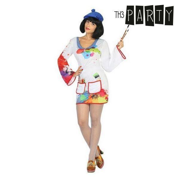 Kostume til voksne Maler kvinde (2 Pcs)