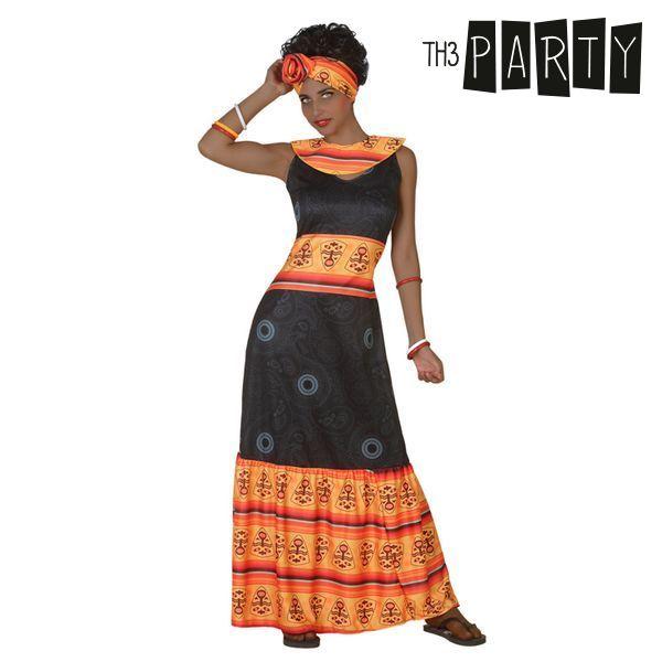 Kostume til voksne Afrikansk kvinde (2 Pcs)