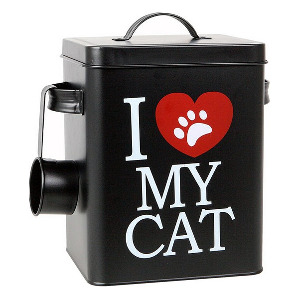 Dåse med kattemad 112818 Sort