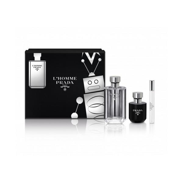 Parfume sæt til mænd L'homme Prada (3 pcs)