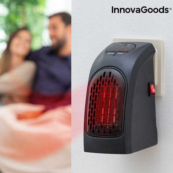 Keramisk varmeapparat med stikforbindelse Heatpod InnovaGoods 400W