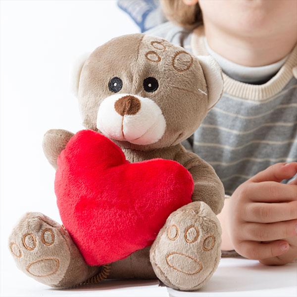 Bamse med Hjerte Romantic Items
