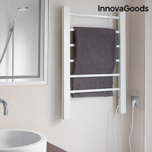 Elektrisk Håndklædestativ InnovaGoods 90W Hvidt (6 Stænger)