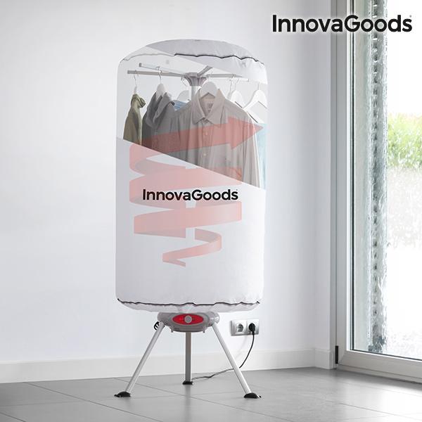 InnovaGoods Transportabelt Tøjstativ 1000W Hvidt