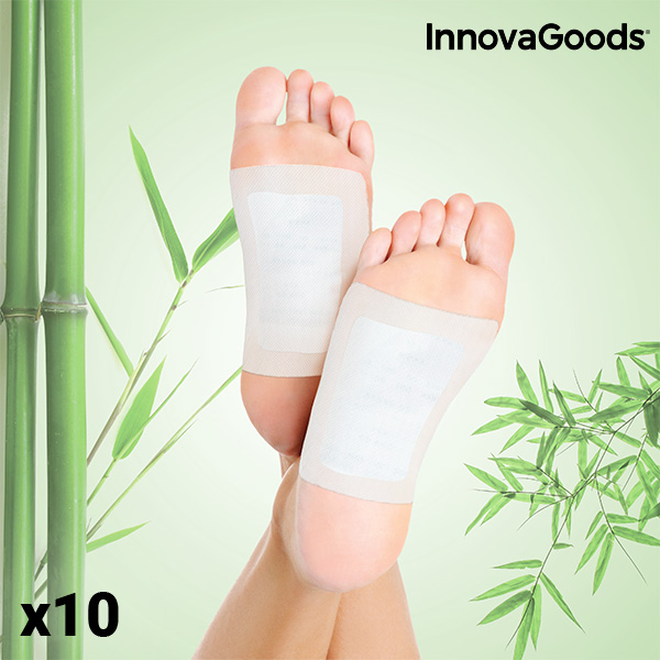 InnovaGoods Detox Fod Plastre (Pakke Med 10)