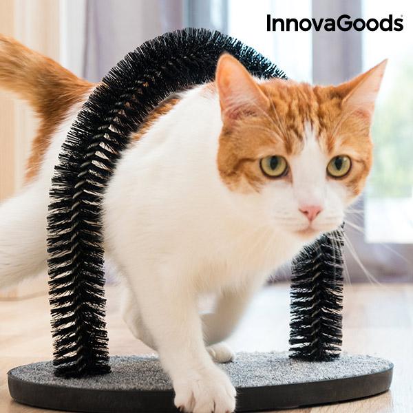 InnovaGoods Kradsetræ og Bue Massager til Katte