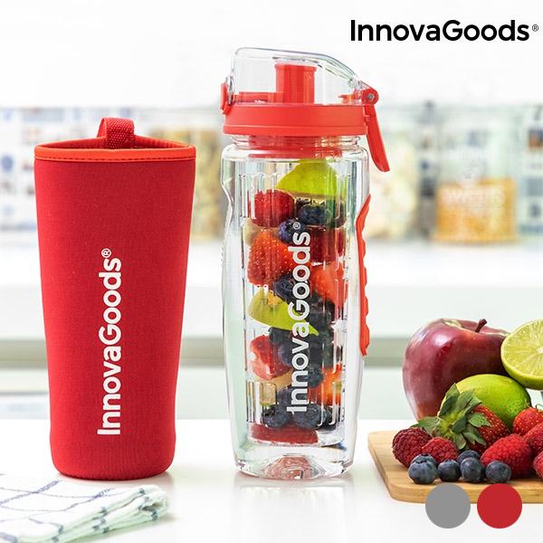 InnovaGoods Infruitssion XL Sportsflaske med Filter med Infusionsfunktion