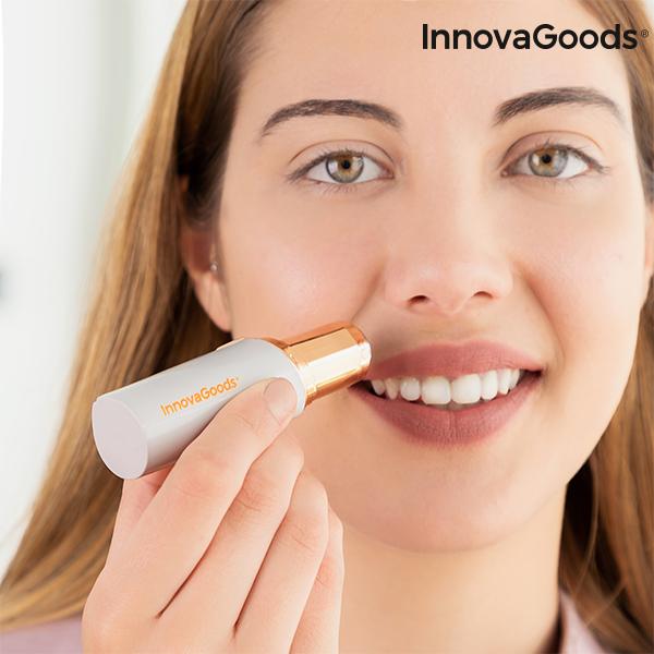 InnovaGoods smertefri hårtrimmer med LED