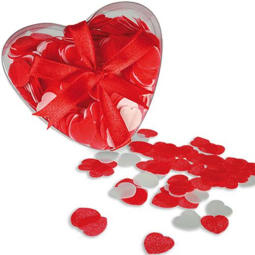 Badekonfetti store hjerter