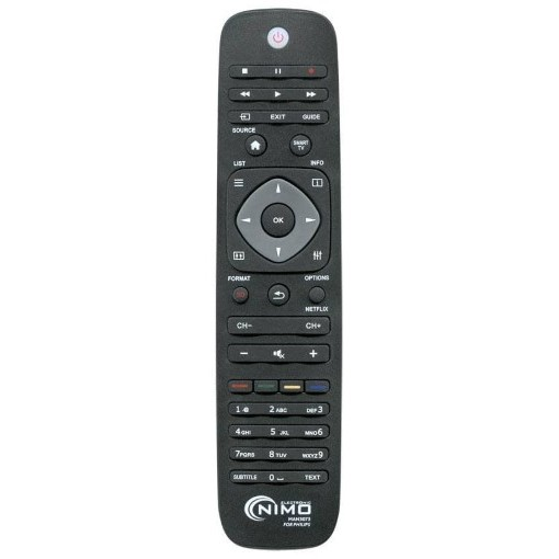 Philips Universal Fjernbetjening NIMO MAN3073 Sort