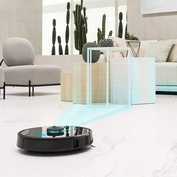 Robotstøvsuger Cecotec Conga 5090 WiFi 5 GHz 8000 Pa 64 Db Sort